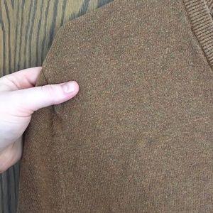 Merona Sweaters - Burnt sienna v-neck sweater